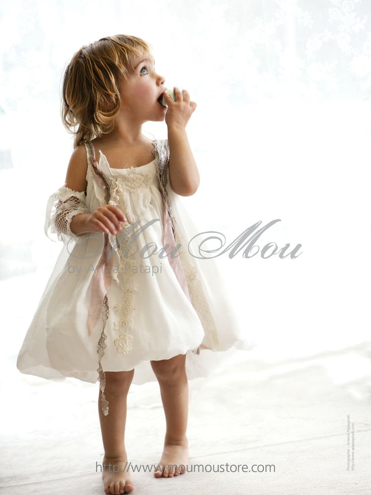 Christening clothes for girls by Anna Patapi #moumou #annapatapi #childrenswear #style #vintage #babyclothes #collection2014