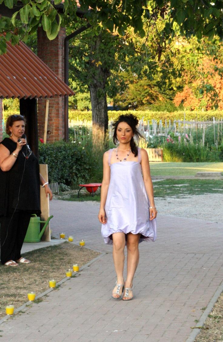lilac baloon dress #ceremony #bridesmaid #bridal