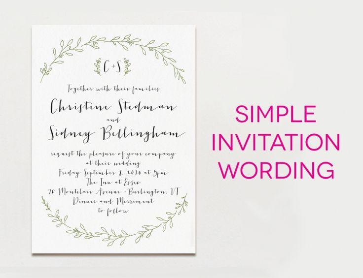 Post Wedding Party Invitation Wording: 1000+ Ideas About Wedding Reception Invitation Wording On