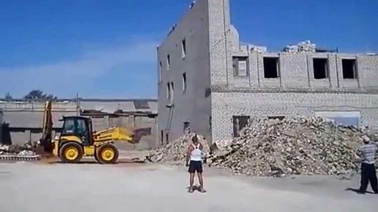 Демонтаж здания в Липецке (Неудачники)