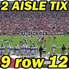 #Ticket  2 AISLE ROW 12: Wake Forest @ Florida State Seminoles FSU Football 10/15 9row12 #deals_us