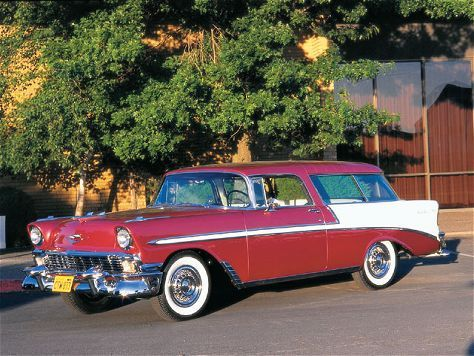 1956 Chevy Nomad - Classic Chevy - Super Chevy Magazine