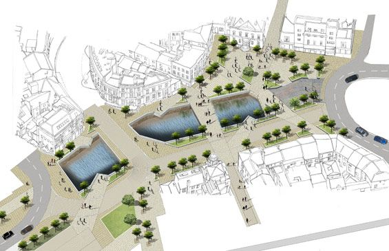 BDP wins Rochdale town centre design competition