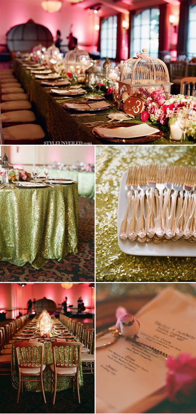 Midsummer Nights Dream Wedding Inspiration | www.castlesandcarriages.blogspot.com