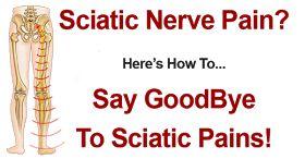 Pain Management Aid: Sciatic Nerve Pain Treatment – Symptoms Relief Exercises