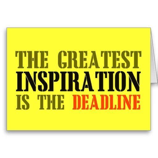 The greatest inspiration is deadline funny meme greeting cards the greatest inspiration is deadline funny meme greeting cards funny pictures pinterest meme memes and memes humor m4hsunfo