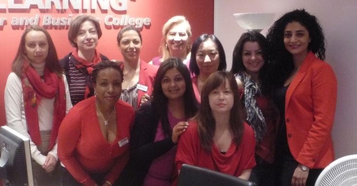 Happy Valentine's Day from the staff at the Bay/Bloor Campus!