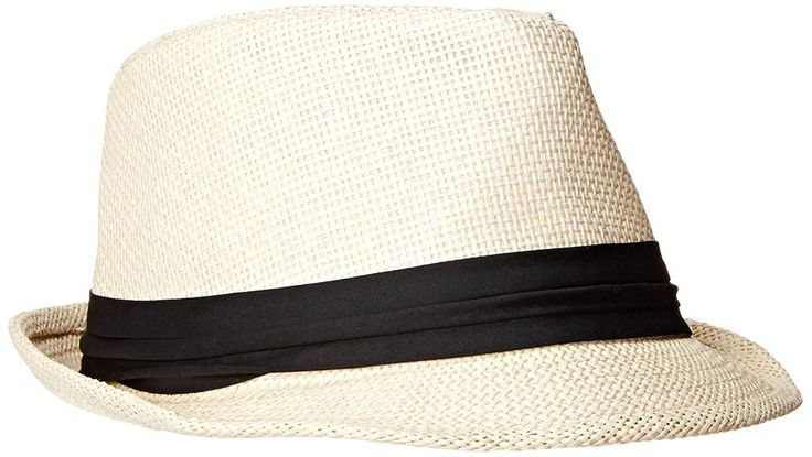 This Milani Straw Fedora Hat is a cool summer fedora with a light lining inside! It's made of 100% paper straw for lightness which everyone will surely love. A classic and timeless unisex style with breathable fabrics to keep your head cool. | eBay!