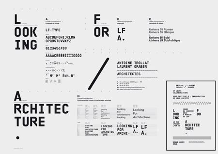 Design work by Superscript: Design Inspiration, Graphic Design, Graphicdesign, Layout, Poster, Architecture, Typography, Type