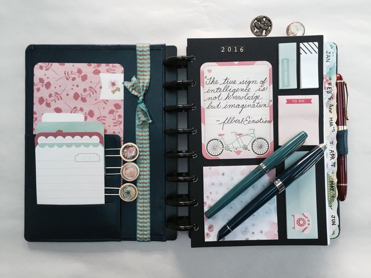 2016 planner dashboard - dash board ideas Arc Staples Filofax disc bound Levenger Circa