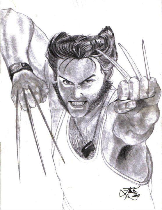Wolverine. By Eliude A Santos