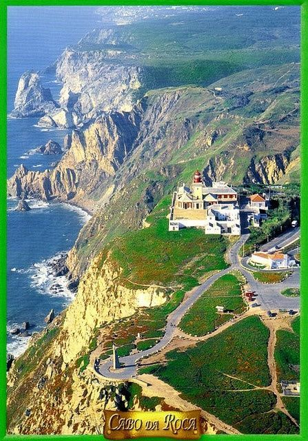 Cabo da Roca, Portugal The most western point of Europe