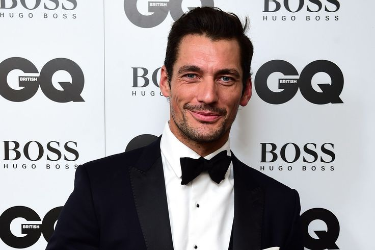 David Gandy, Britain's most famous male model doesn't know how not to look good | GQ Men of the Year acceptance speech
