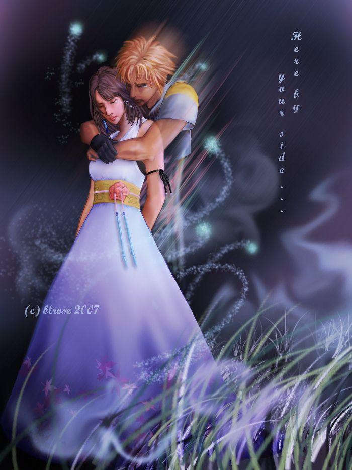 Bride And Groom Cosplay Couple Choice 1 Yuna Tidus From FFX