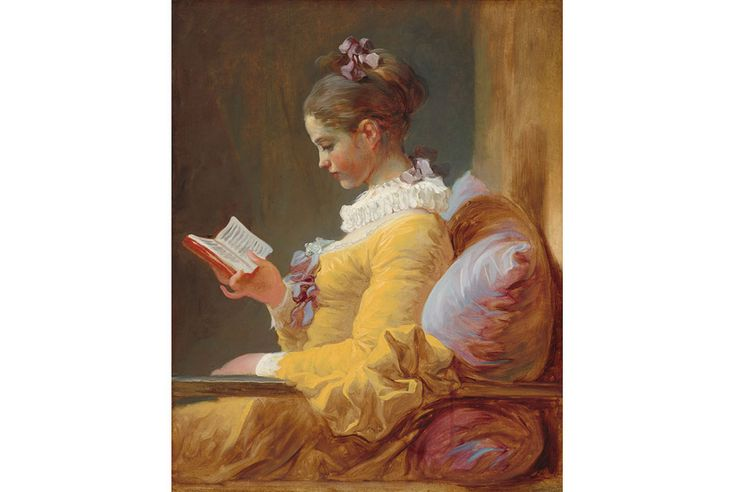 "Fragonard's ""Young Girl Reading"" on special loan to Speed Art Museum - Jean Honoré Fragonard, Young Girl Reading, c. 1769. Oil on canvas, National Gallery of Art, Washington. Gift of Mrs. Mellon Bruce in memory of her father, Andrew W. Mellon"