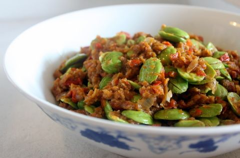 Petai (Stinky Beans) with Dried Shrimp Sambal ... if I have to choose one dish to eat for the rest of my life, this is it!
