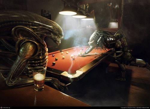 Alien vs. Predator pool