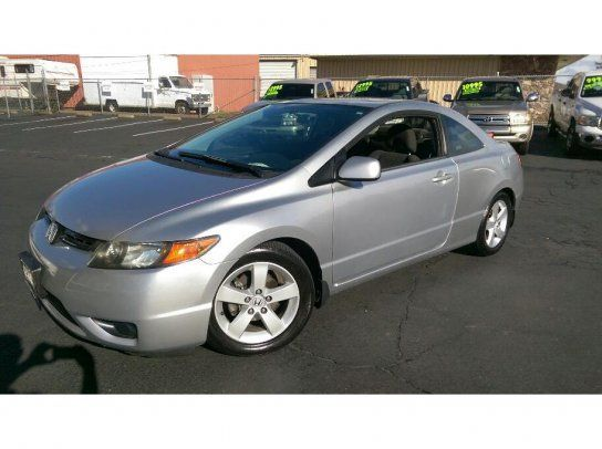 Coupe, 2006 Honda Civic EX Coupe With 2 Door In Folsom, CA (95630)