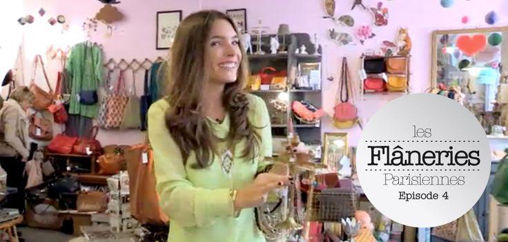 Les flâneries parisiennes : Juliette et sa boîte à trésors  Cet été, la pétillante styliste Juliette Longuet nous invite à suivre ses pérégrinations à travers les rues de la capitale. Elle nous ouvre son carnet d'adresses coups de cœur. Un cadeau à trouver, un bijou à s'offrir (eh oui, on n'est jamais mieux servi  que par soi-même !) ou un objet déco qui sort du lot…   >> http://www.grazia.fr/flaneries-parisiennes/chapitre1-episode4