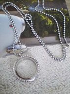 "Memory Locket ""ketting"""