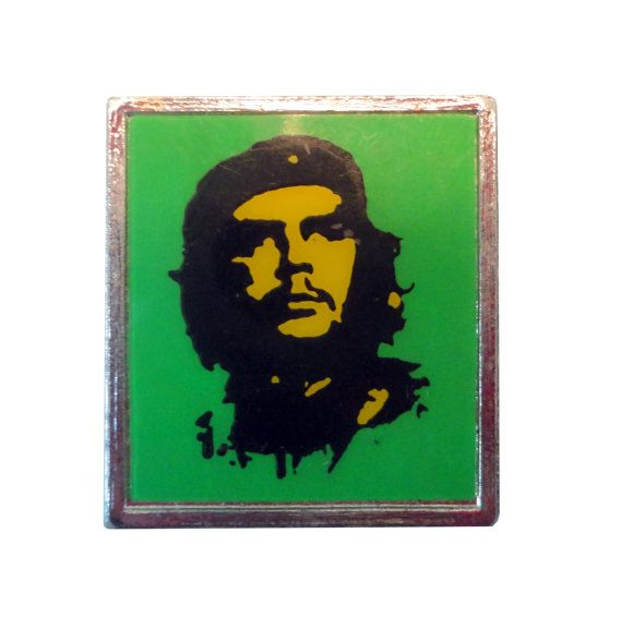 vintage CHE GUAVARA pin button badge lapel punk revolucion ratm revolution by VintageTrafficUSA  20.00 USD  Add inspiration to your handbag tie jacket backpack hat or wall. 20 years old hard to find vintage high-quality pin. A vintage CHE pin. From the late 70s early 80s Used but in great condition! Measures: approx 1 inch Have some individuality = some flair! -------------------------------------------- SECOND ITEM SHIPS FREE IN USA!!! LOW SHIPPING OUTSIDE USA!! VISIT MY STORE FOR MORE…