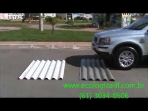 Placas e telhas ecológicas - Eco-Lógica DF - YouTube