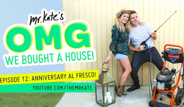 OMG We Bought A House! Episode 12: Anniversary Al Fresco!