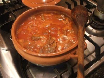 Tsilihourda (Mayeritsa) is the traditional soup of Corfu - Greece!