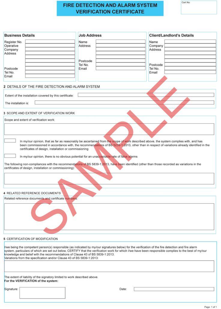 Fire Retardant Certificate Sample Carlynstudio In Electrical Isolation Certificate Template In 2020 Certificate Templates Business Template