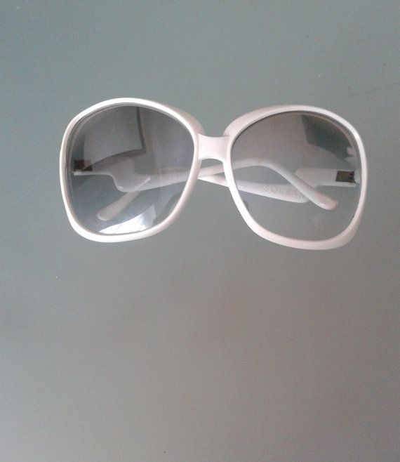 Vintage SunglassesWhite Sunglasses Solban by Instyleglamour