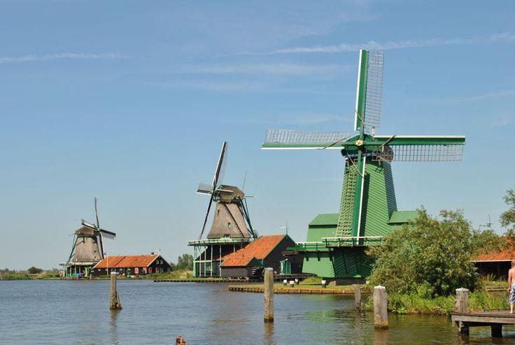 Zaanse-Schans Windmills - Amsterdam