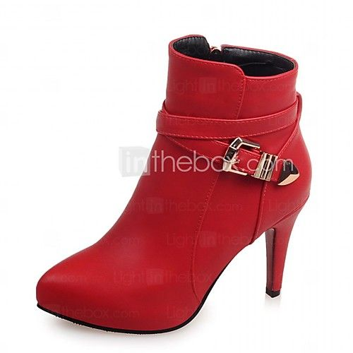 Women's Heels Spring / Fall / WinterHeels / Riding Boots / Fashion Boots / Motorcycle 2017 - $32.99
