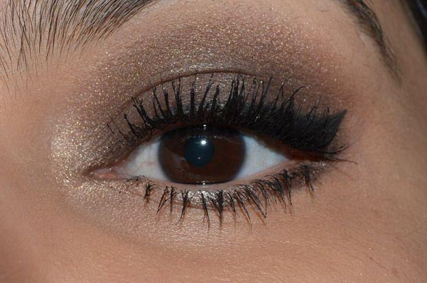 Projeto Naked Look Makeup Brown Smokey Eye