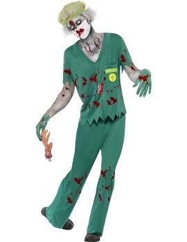 Men's Zombie Paramedic Costume