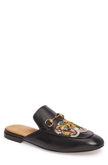 ec2220eab9f0 GUCCI KING S ROARING TIGER BIT LOAFER.  gucci  shoes