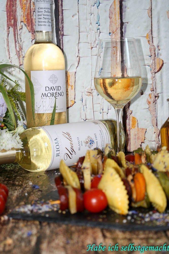 Fingerfood Pasta Spiesse Schnell Und Einfach Lecker Rezept Wein Werbung Party Picknick Food Werbung Rioja Fingerfood Fingerfood Einfach Essen Und Wein