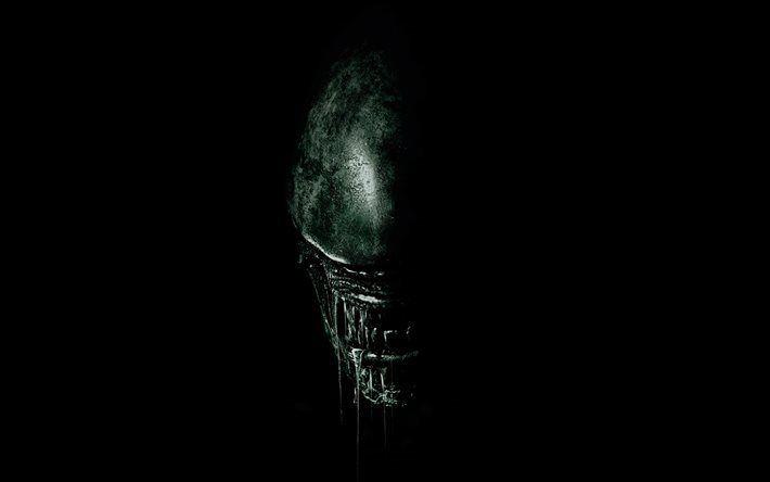Télécharger fonds d'écran Alien Covenant, 2017, Alien Paradise Lost