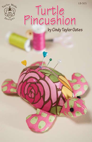 Turtle Pincushion - click here for more details about this PATTERNS