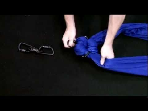 Rigging your Aerial Silks with a Rescue-8