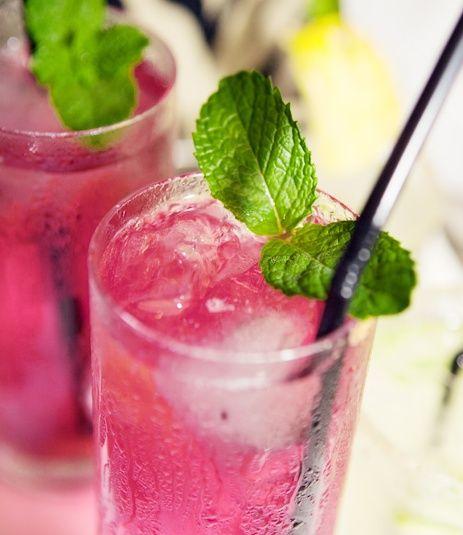 Pink Pelican recept: - Doe de 10 cl sinaasappelsap, 6 cl grapefruitsap, 1 cl. vers geperst citroensap, 2 cl. grenadinesiroop, 2 cl. limoensap      (Rose's Lime Juice) en vier ijsblokjes in een shaker. Sluit de shaker en schud het ongeveer 15 seconden. - Doe vervolgens drie tot vier ijsblokjes in een longdrinkglas en giet de inhoud van de shaker daar door een zeefje overheen. Serveer de Pink Pelican met een rietje.