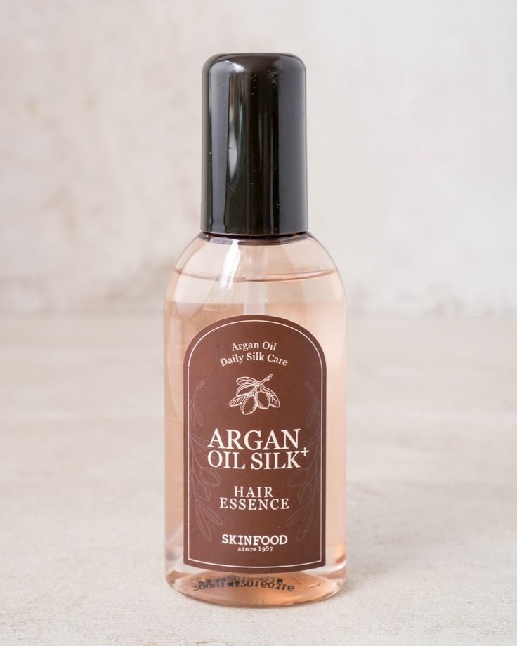 Argan Oil Silk Hair Essence. K-beauty hair products?? tames frizz and leaves hair soft