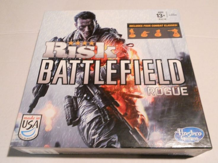 2013 RISK BATTLEFIELD ROGUE A5116 Hasbro  Age 13+ NIB Exclusive 2-Sided Maps  #Hasbro