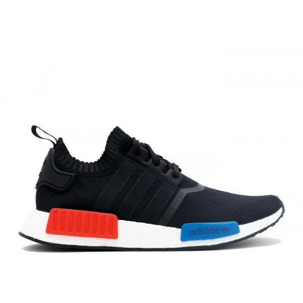 cheap authentic adidas nmd runner mens originals black white red blue  runner pk online shop
