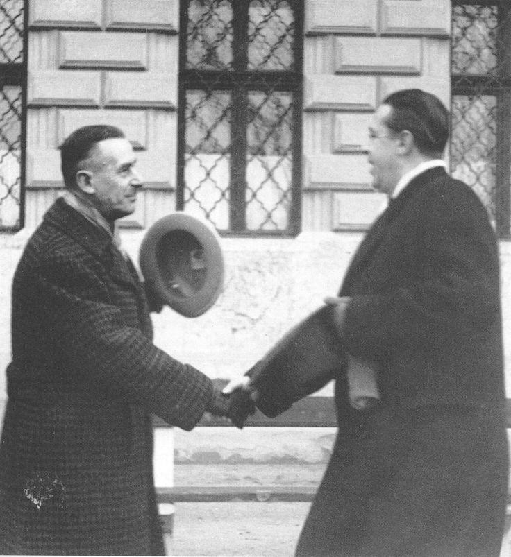 Thomas Mann & Sandor Marai