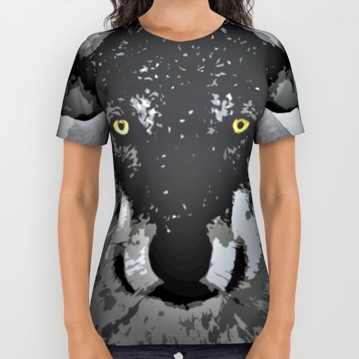 Buy Wolf All Over Print Shirt by Animilustration. Worldwide shipping available at Society6.com. Just one of millions of high quality products available.