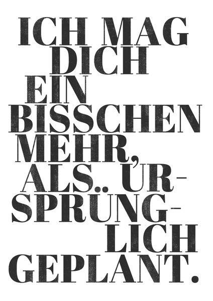 Originaldruck – Kunstdruck Poster / Geplant – ein Designerstück von typealive b…