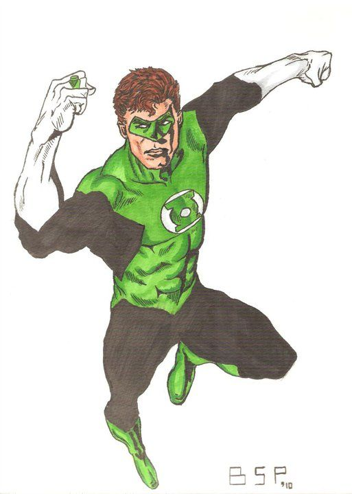 Green Lantern -Hal Jordan- by bensonput