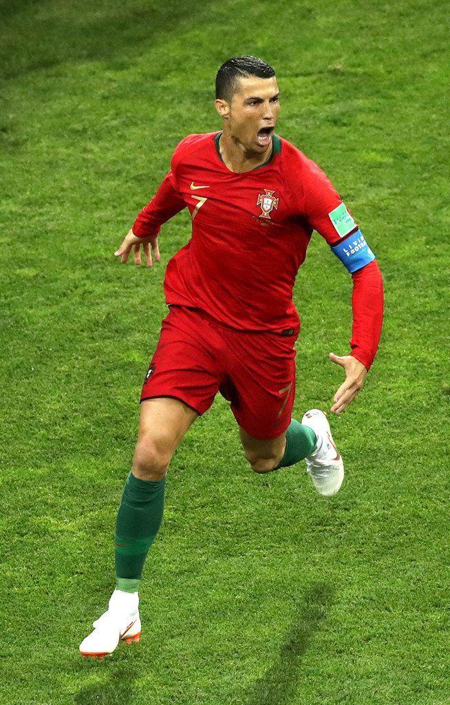 Captain Cristiano 51sthattrick Legend Portugal Vs Spain Fifa World Cup 2018 Cristiano Ronaldo Portugal Ronaldo Ronaldo Football