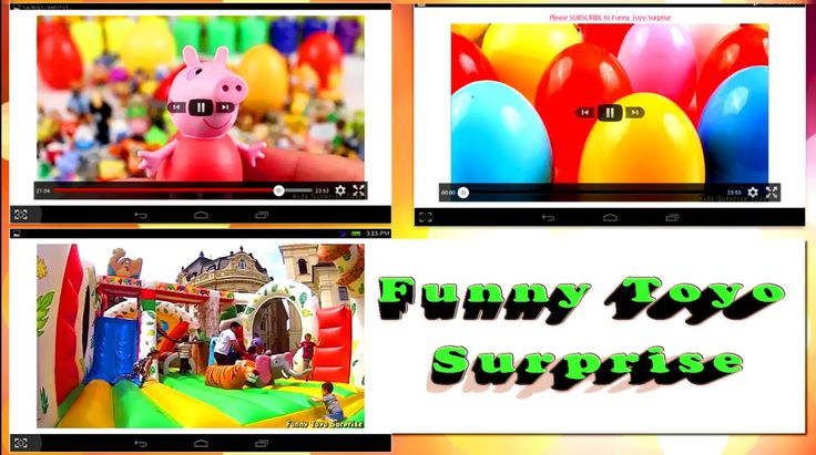 Funny Toyo Surprise Playlist YouTube Non-Stop Videos for Kids FREE Android app