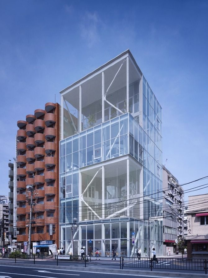 Shibaura House, Tokyo by Kazuo Shinohara #architecture